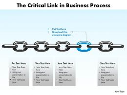 the_critical_link_in_business_process_powerpoint_templates_Slide01