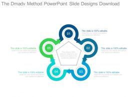 The Dmadv Method Powerpoint Slide Designs Download