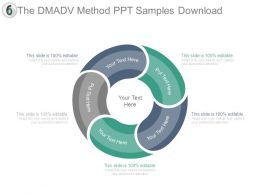 The Dmadv Method Ppt Samples Download