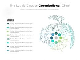 The Levels Circular Organizational Chart