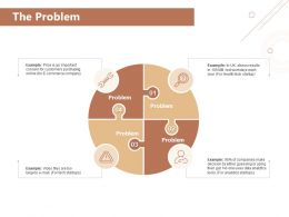The Problem E Commerce Company Ppt Powerpoint Summary Graphics Download