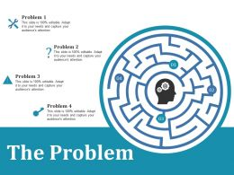 The Problem Ppt Outline Visuals