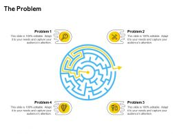 The Problem Ppt Powerpoint Presentation Icon Example Topics