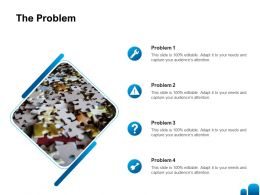 The Problem Ppt Powerpoint Presentation Layouts Graphics Example