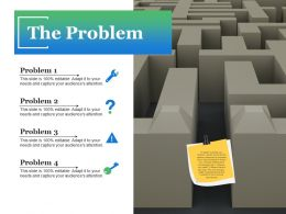 The Problem Ppt Slide Download