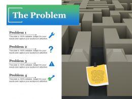The Problem Ppt Slide Download