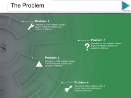 The Problem Ppt Slides Graphics