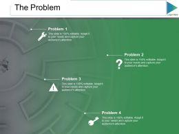 The Problem Ppt Slides Graphics