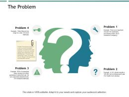 The Problem Storage Ppt Powerpoint Presentation Show Elements