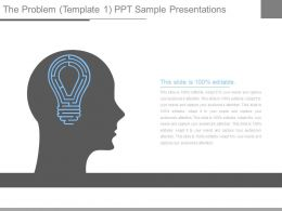 The Problem Template1 Ppt Sample Presentations