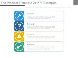 The Problem Template2 Ppt Examples
