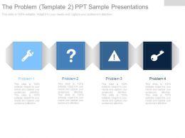 The Problem Template2 Ppt Sample Presentations