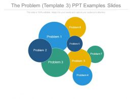 The Problem Template3 Ppt Examples Slides