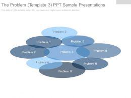 The Problem Template3 Ppt Sample Presentations