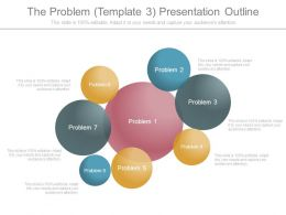 The Problem Template3 Presentation Outline