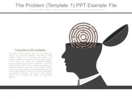 The Problem Template 1 Ppt Example File