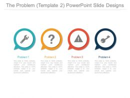The Problem Template 2 Powerpoint Slide Designs