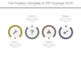 The Problem Template 2 Ppt Example 2015