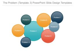 The Problem Template 3 Powerpoint Slide Design Templates