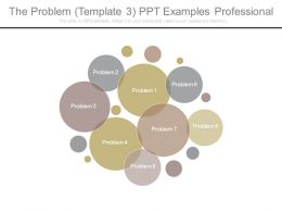 The Problem Template 3 Ppt Examples Professional