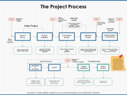The Project Process Conceptual Design Ppt Powerpoint Presentation Icon