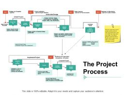 The Project Process Management Ppt Powerpoint Presentation Styles Maker