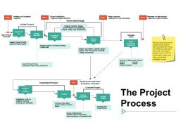 The Project Process Ppt Summary Example Introduction