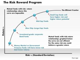 The Risk Reward Program Powerpoint Presentation Slide Template
