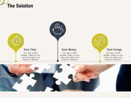 The Solution L2182 Ppt Powerpoint Presentation Portfolio Background