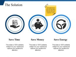 The Solution Powerpoint Slide Designs