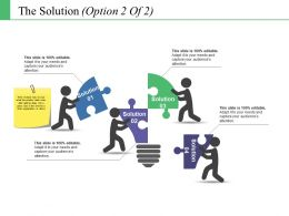 The Solution Ppt File Model