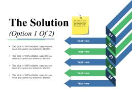 The Solution Ppt File Show