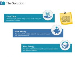 The Solution Ppt Infographic Template Example 2015