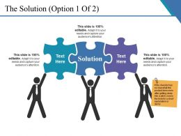 The Solution Presentation Images