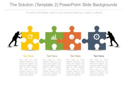 The Solution Template2 Powerpoint Slide Backgrounds