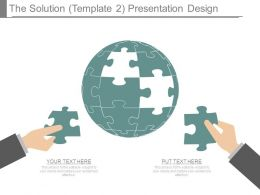 The Solution Template2 Presentation Design
