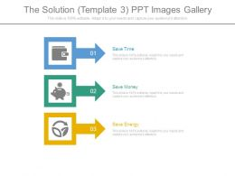 The Solution Template3 Ppt Images Gallery