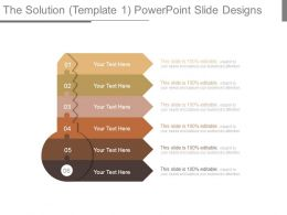 The Solution Template 1 Powerpoint Slide Designs