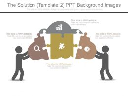The Solution Template 2 Ppt Background Images