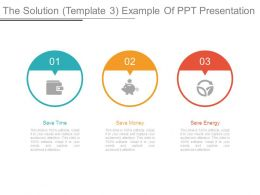 The Solution Template 3 Example Of Ppt Presentation