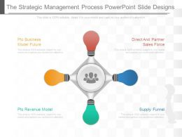 The Strategic Management Process Powerpoint Slide Designs