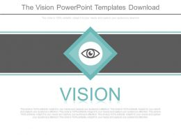 The Vision Powerpoint Templates Download