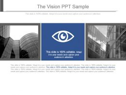 The Vision Ppt Sample