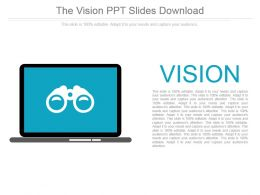 The Vision Ppt Slides Download