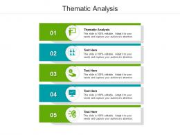 Thematic Analysis Ppt Powerpoint Presentation Icon Inspiration Cpb