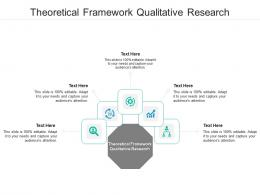 Theoretical Framework Qualitative Research Ppt Powerpoint Presentation Ideas Infographic Template Cpb