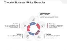 Theories Business Ethics Examples Ppt Powerpoint Presentation Styles Microsoft Cpb