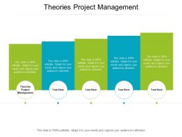 Theories Project Management Ppt Powerpoint Presentation Model Layout Ideas Cpb