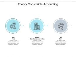 Theory Constraints Accounting Ppt Powerpoint Presentation File Outfit Cpb