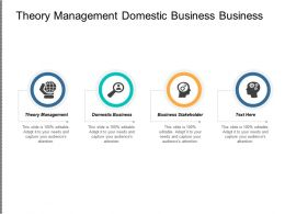 Theory Management Domestic Business Business Stakeholder Retargeting Data Cpb